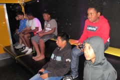 OUT OF COOUT OF CONTROL GAMING   MOBILE VIDEO GAME THEATER