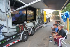OUT OF COOUT OF CONTROL GAMING | MOBILE VIDEO GAME THEATER