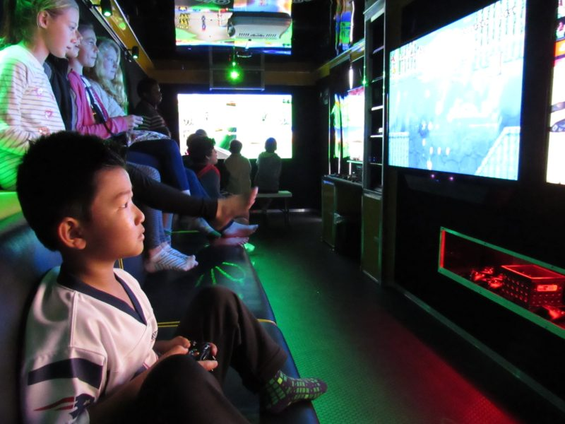Out Of Control Gaming Serving All San Diego County Video Game Truck For Birthday Parties More
